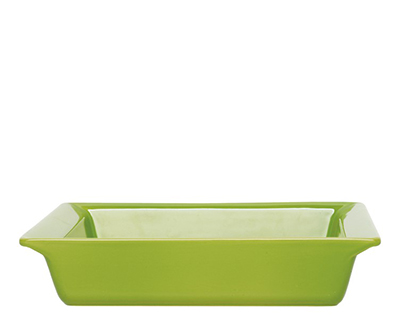 Emile Henry 752002EA 9-in Urban Colors Ceramic Baking Dish, Square, Apple Green