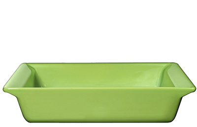 Emile Henry 752004EA 10-in Urban Colors Ceramic Baking Dish, Square, Apple Green