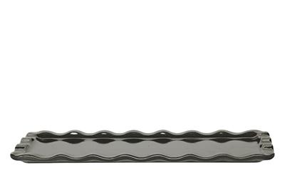 Emile Henry 796103 1 qt Ceramic Rectangular Platter, 14 x 8 in, Slate