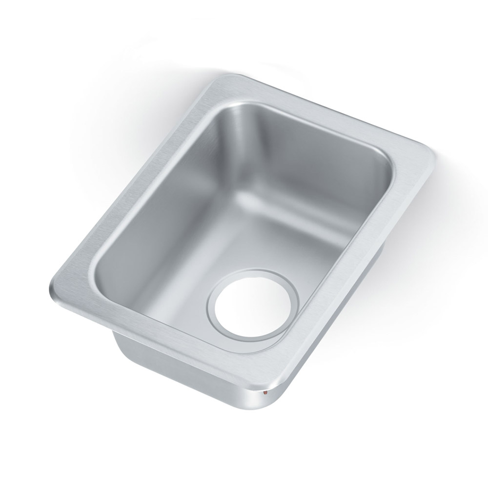 """Vollrath 1731 Yukon Drop In Sink, 1 Compartment, 13x17"""", Stainless"""