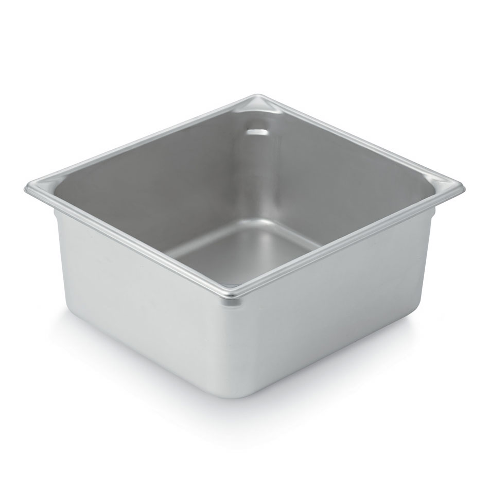 Vollrath 30162 Super Pan II 2/3 Size 6 in Deep 22 Gauge Stainless Steel NSF Restaurant Supply