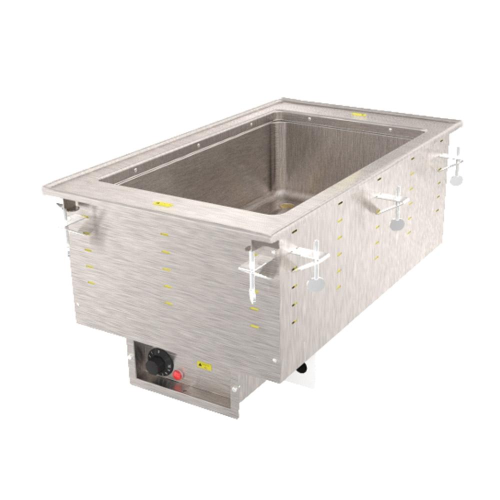 Vollrath 36467 1 Well Modular Hot Drop-In Infinite Standard Drain 625 W 208 V Restaurant Supply
