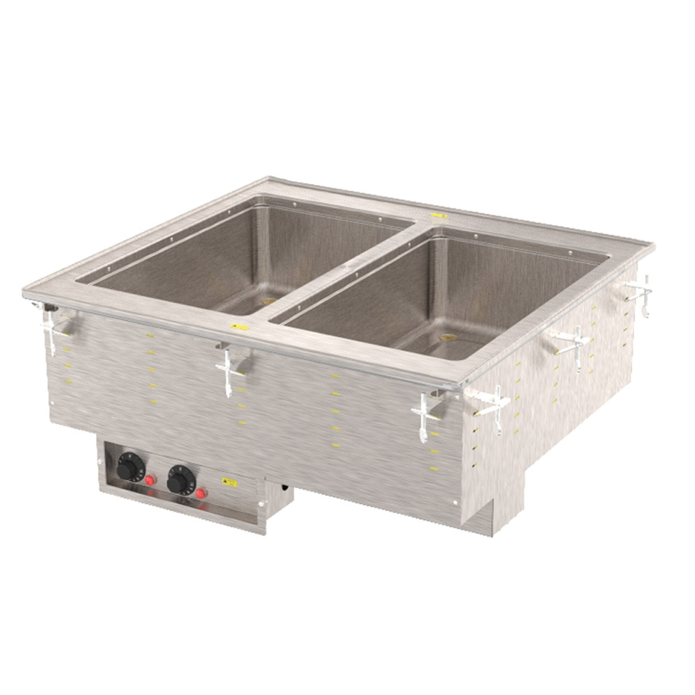 Vollrath 3647250 2 Well Modular Hot Drop-In Infinite Restaurant Supply