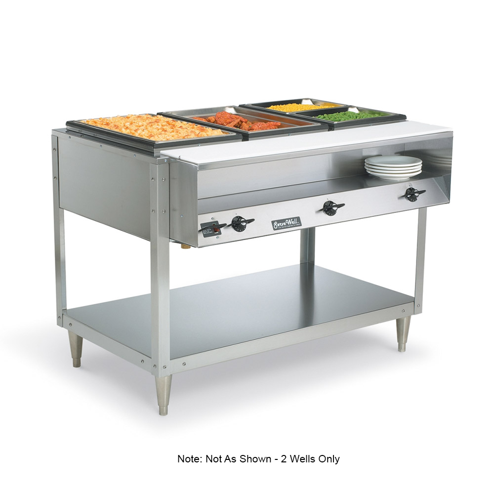 Vollrath 38116 2 Well Electric Buffet Table Hot Food Restaurant Supply