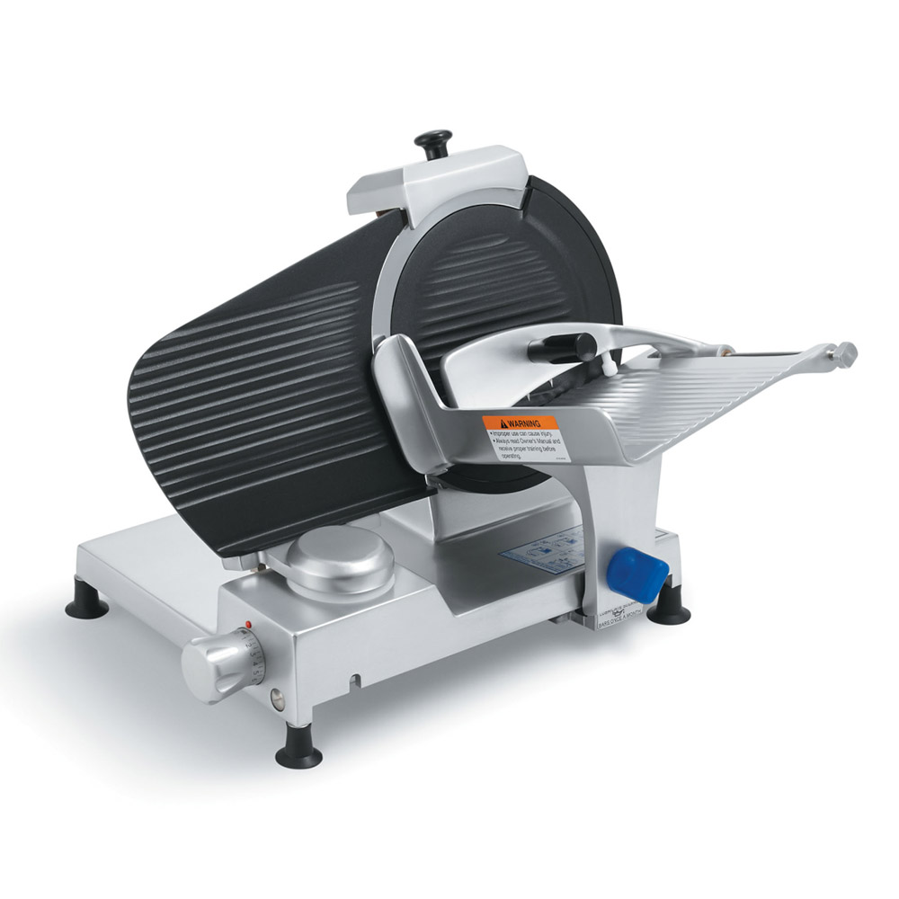 "Vollrath 40901 10"" Light-Duty Gravity Feed Slicer - 110v/60/1-ph"