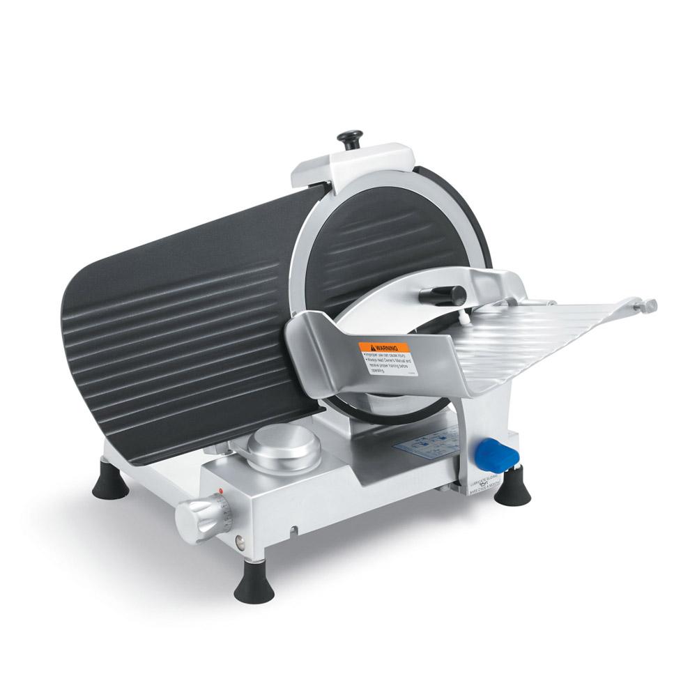 """Vollrath 40902 12"""" Medium-Duty Gravity Feed Slicer - 110v/60/1-ph"""