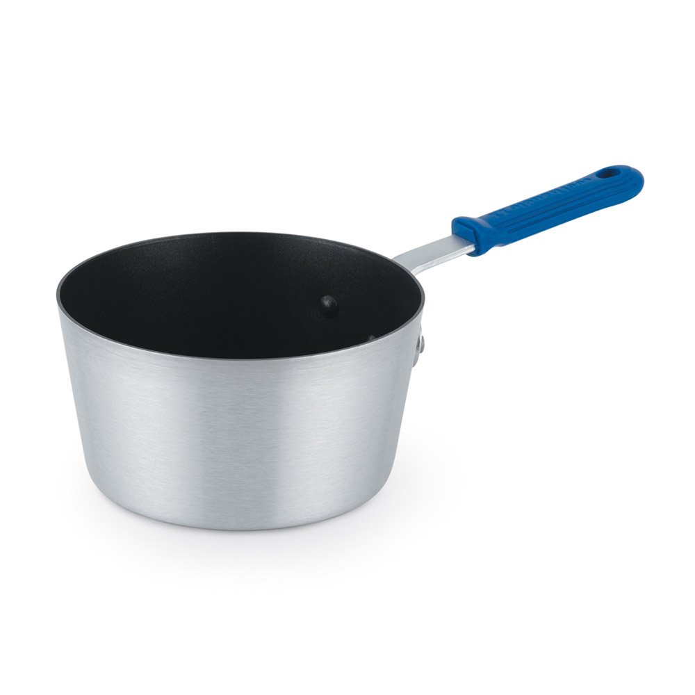 Vollrath 434412 4-1/2 qt Aluminum Premier Sauce Pan With Cool Handle Restaurant Supply