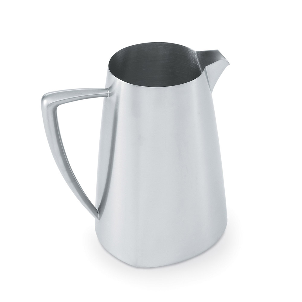 Vollrath 46304 Triennium Water Pitcher 2.3 qt Stainless Satin Finish Restaurant Supply