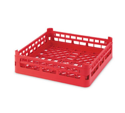 """Vollrath 52670 Open-End Dishwasher Rack - Short, Full-Size, 19-3/4x19-3/4"""" Cocoa"""