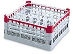 Vollrath 52774 2 Dishwasher Rack - 25-Compartment, Tall Plus, Full-Size, 19-3/4x19-3/4