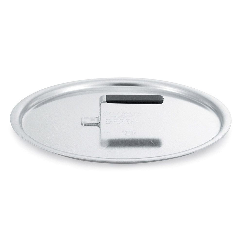 Vollrath 67533 Flat Aluminum Cover w/ Torogard Handle 12-5/8 in Diameter Restaurant Supply
