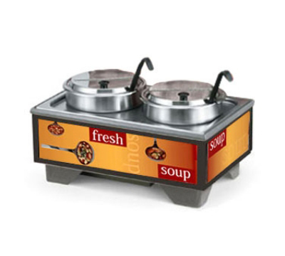 Vollrath 720202001 Cayenne Soup Merchandiser Base & 7 qt Accessory Pack, Ladles Graphics