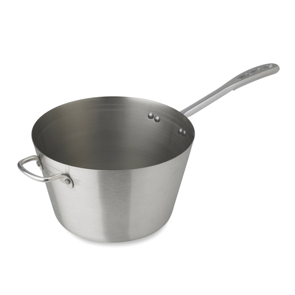 Vollrath 78321 Sauce Pan 2 qt Stainless 7-1/4 in Diameter Plated Handle Restaurant Supply