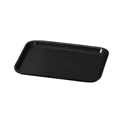 Vollrath 86128 Fast Food Tray Rectangular 14 x 18 in Black Restaurant Supply