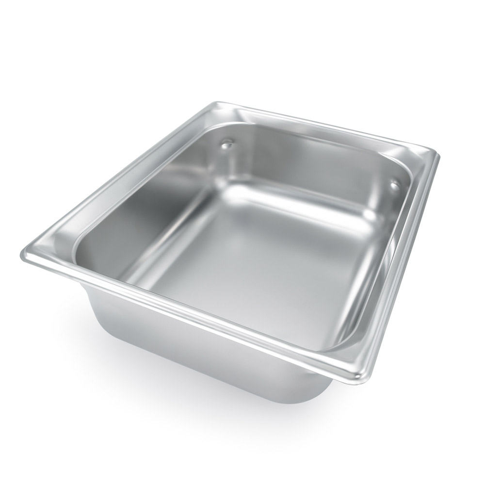 Vollrath 90262 Super Pan III Half Size 6 in Deep 22 Gauge SS NSF USA Restaurant Supply