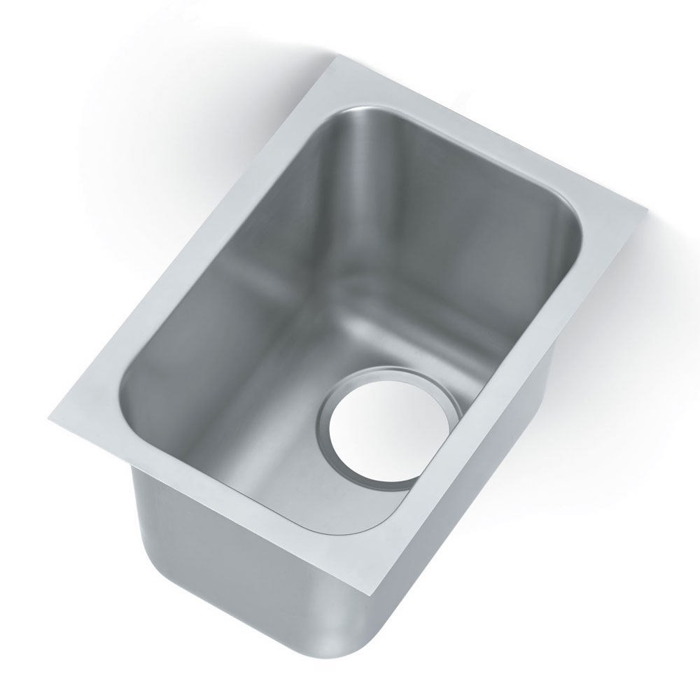 Vollrath 9101-1 1-Compartment Super Heavy Weight Drop-In Sink w/ Square Corners