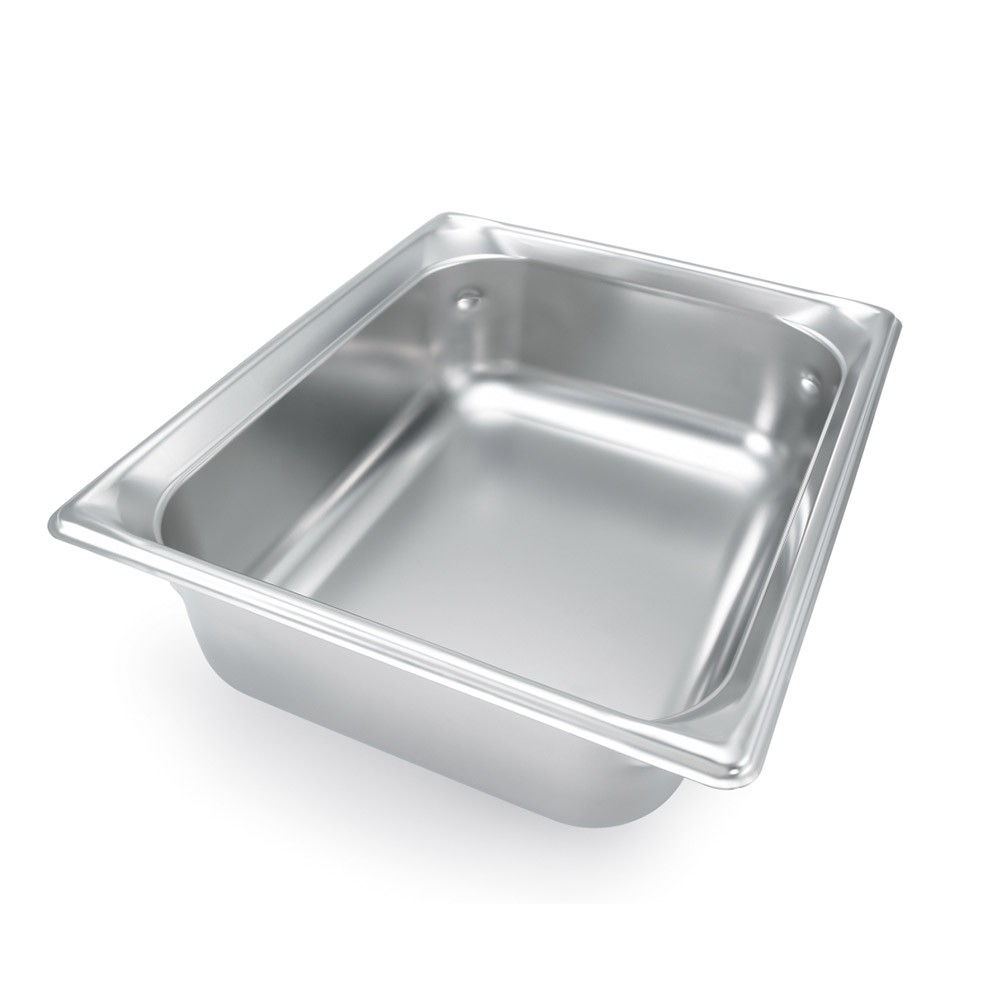 Vollrath 92022 Super Pan III Double Size Pan 2.5 in Deep Stainless Restaurant Supply