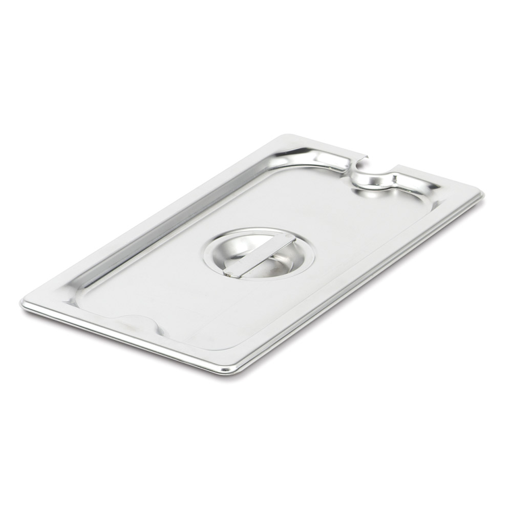 Vollrath 94100 Super Pan III Full Size Flat Slotted Cover Stainless Restaurant Supply