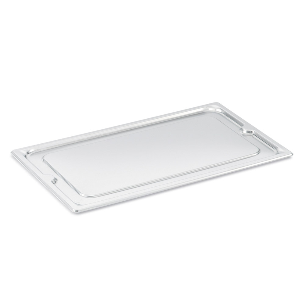 Vollrath 95200 Super Pan III Half Size Cover Cook-Chill w/o Handles Stainless Restaurant Supply
