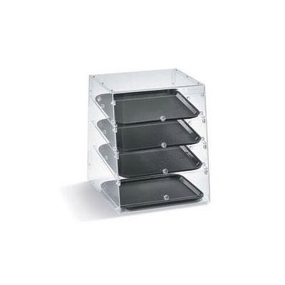 "Vollrath KDC1418-4R-06 Slant-Front Countertop Pastry Display Case - (4)14x18"" Trays"