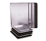 "Vollrath S5315 Full-Size Sheet Pan - 18x26x1"" SteelCoat-Finish Aluminum"