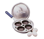 Vollrath 56507 4-Cup Egg Poacher Set - Aluminum