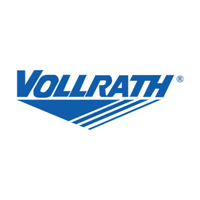 Vollrath T397082 3-Well Hot Cafeteria Unit - Open Base, Thermostat, Manifold Drain, Black 208-240v