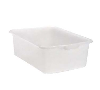 "Vollrath 1527B-05 Bus Box - 15x20x7"", Plastic, White"