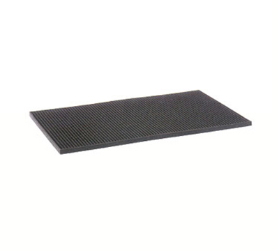"Vollrath 2331-99 Bar Mat - 12 x 18"", Black"
