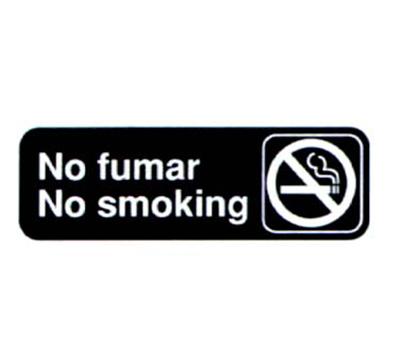 Vollrath 4589 No Fumar/No Smoking Sign