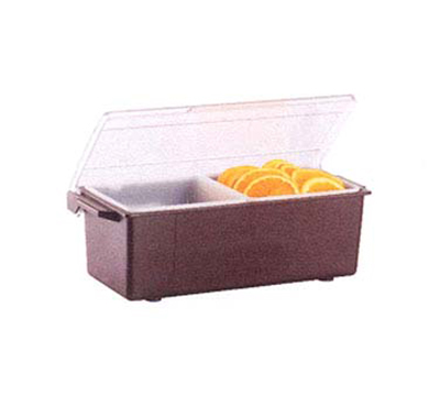 Vollrath 4740-01 2-qt Condiment Dispenser Standard Lid - Plastic, Brown