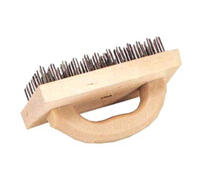Vollrath 483 Butcher Block Brush w/ Curved
