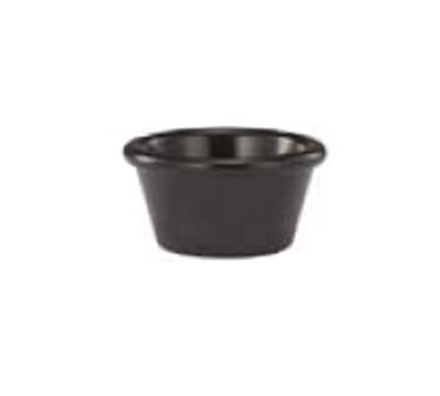 Vollrath 533-06 2-oz Ramekin - Melamine, Black