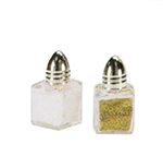 Vollrath 710 1/2-oz Salt/Pepper Shaker - Chrome Cap, Glass