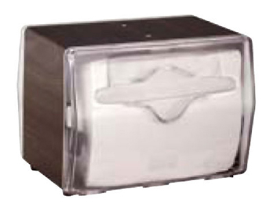 Vollrath 7545-12 Napkin Dispenser - Table Type, Clear Face, Wa