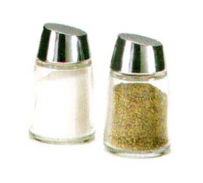 Vollrath 802J-12 2-oz Salt/Pepper Shaker Replacement Jar - Round Bottom,