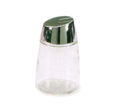 Vollrath 930 12-oz Continental Sugar Pourer - Chrome Cap, Glass