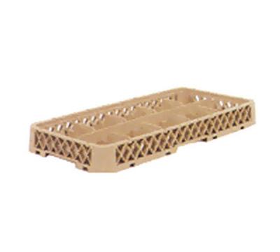 Vollrath HR-C Dishwasher Rack Extender - Half-Size, 10-Compartment, Beige