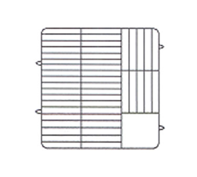 Vollrath PM3807-2-21 Dishwasher Rack - 38-Plate Capacity, 2-Extende