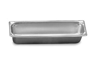 "Vollrath 30512 Steam Table Pan - Long, 1/2 Size, 1-1/4"" Deep, 22-ga Stainless"