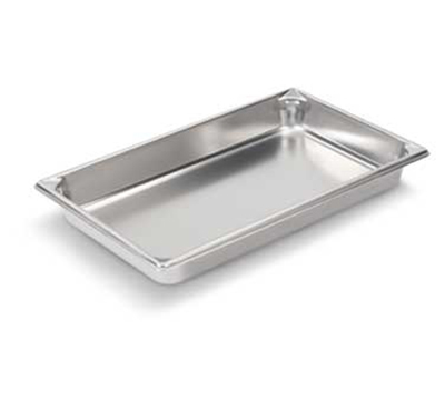"Vollrath 30022 Steam Table Pan - Full Size, 2-1/2""  Deep, 22-ga Stainless"