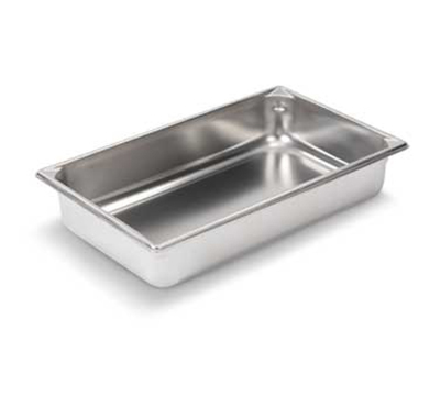 "Vollrath 30042 Steam Table Pan - Full Size, 4"" Deep, 22-ga Stainless"