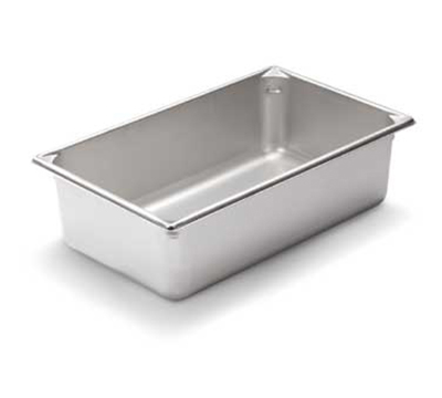 "Vollrath 30062 Steam Table Pan - Full Size, 6"" Deep, 22-ga Stainless"