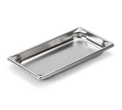 "Vollrath 30312 Steam Table Pan - 1/3 Size, 1-1/4"" Deep, 22-ga Stainless"