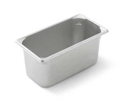 "Vollrath 30362 Steam Table Pan - 1/3 Size, 6"" Deep, 22-ga Stainless"