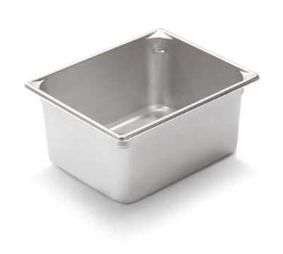 Vollrath 30462 Fourth-Size Steam Pan, Stainless