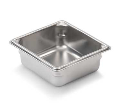 "Vollrath 30622 Steam Table Pan - 1/6 Size, 2-1/2"" Deep, 22-ga Stainless"