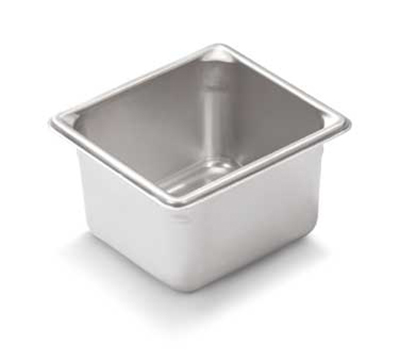 "Vollrath 30642 Steam Table Pan - 1/6 Size, 4"" Deep, 22-ga Stainless"