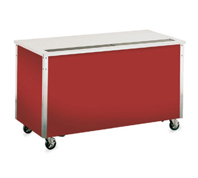 "Vollrath 36127 74"" Beverage Counter - 30x74x28"", Enclosed Base, Stainless Top"