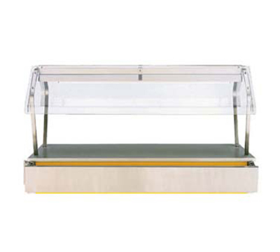 "Vollrath 36303 74"" Economy Breath Guard - Classic Base"